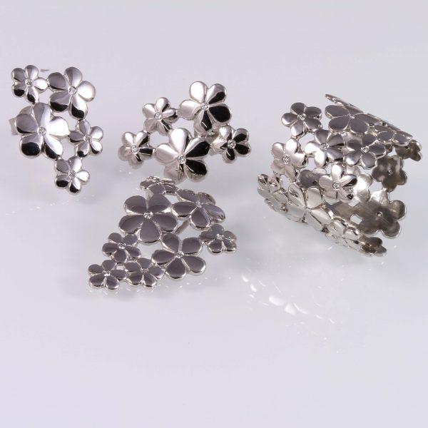 Gyémánt garnitúra 0.21 ct