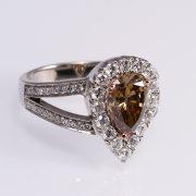 Eljegyzési Gyémánt gyűrű 2.173 ct-al