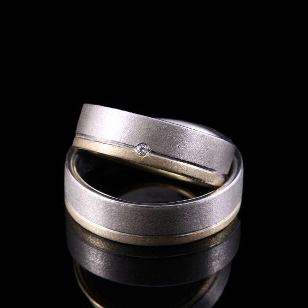 gyémánt karikagyűrű 0.015 ct