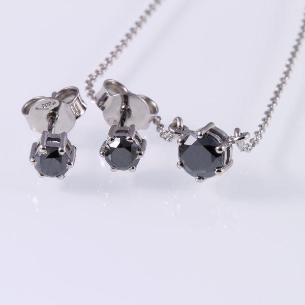 Gyémánt garnitúra 1.23 ct