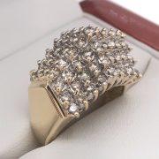 Multi köves gyémánt gyűrű 2