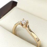 cavart eljegyzési gyémánt gyűrű